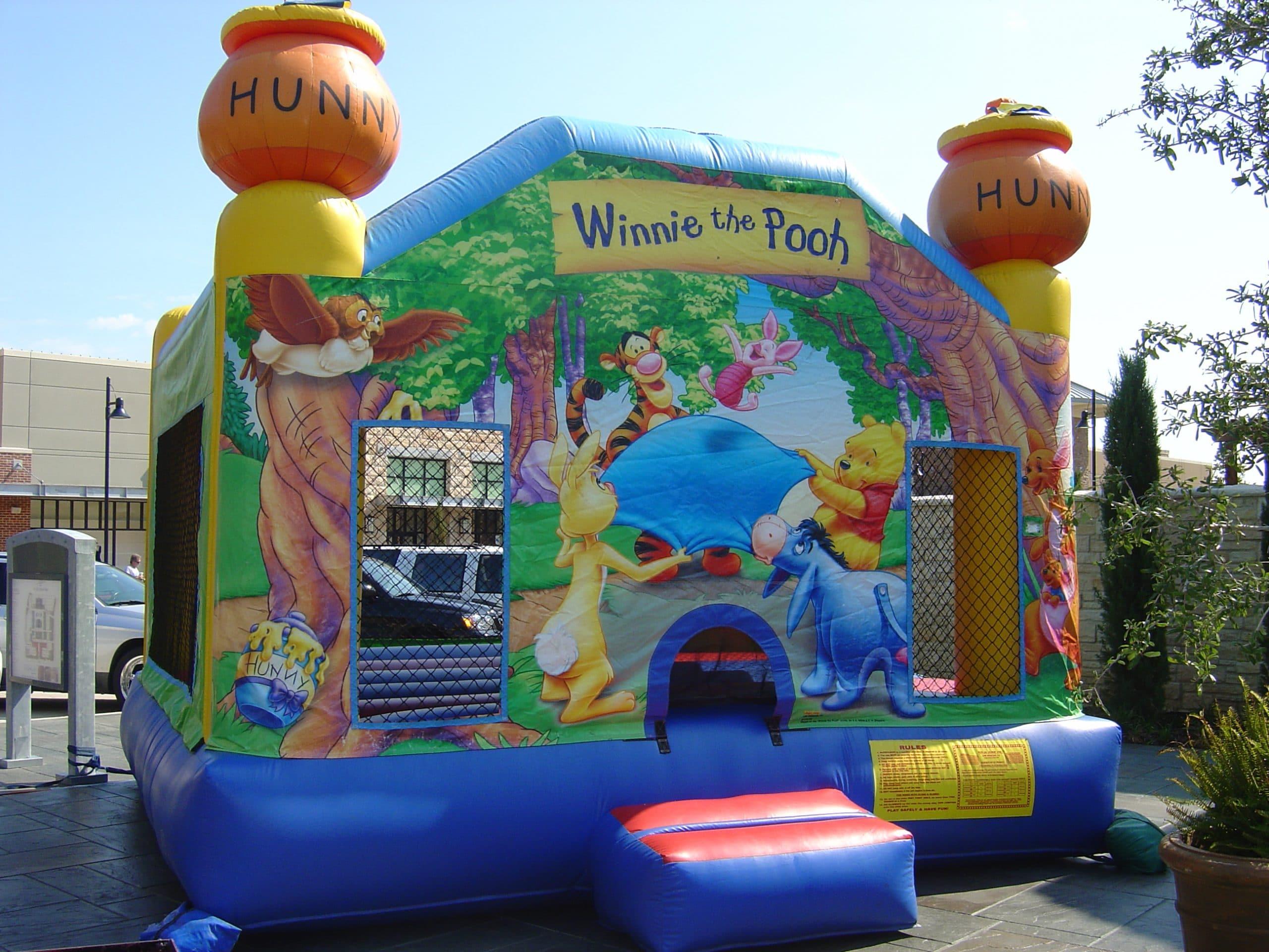 winnie the pooh tigger bounce house jump houses dallas