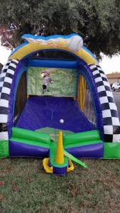 inflatable baseball game for parties