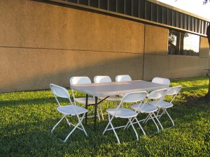 banquet table for rent dallas