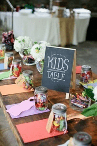 diy-kids-table-wedding-reception-idea