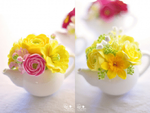 Floral-centerpiece-teapot-spring-decoration