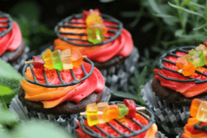 Grill-cupcake-idea-for-bbq-party