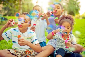 bubble-themed-party-for-summer