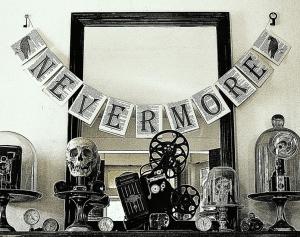 Edgar-Allan-Poe-themed-halloween-party-ideas