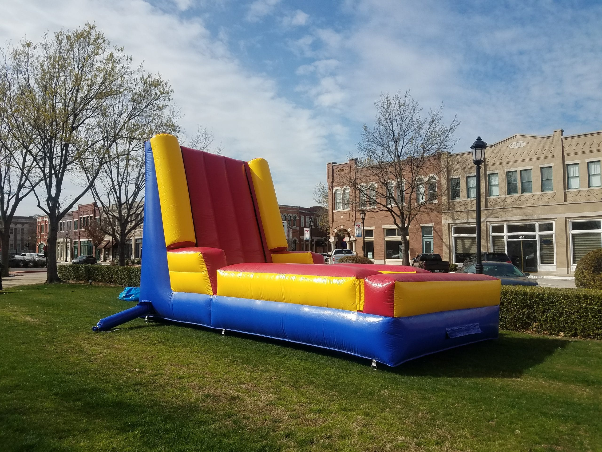 inflatable velcro wall rental
