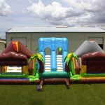 amazon extreme obstacle course on grass field
