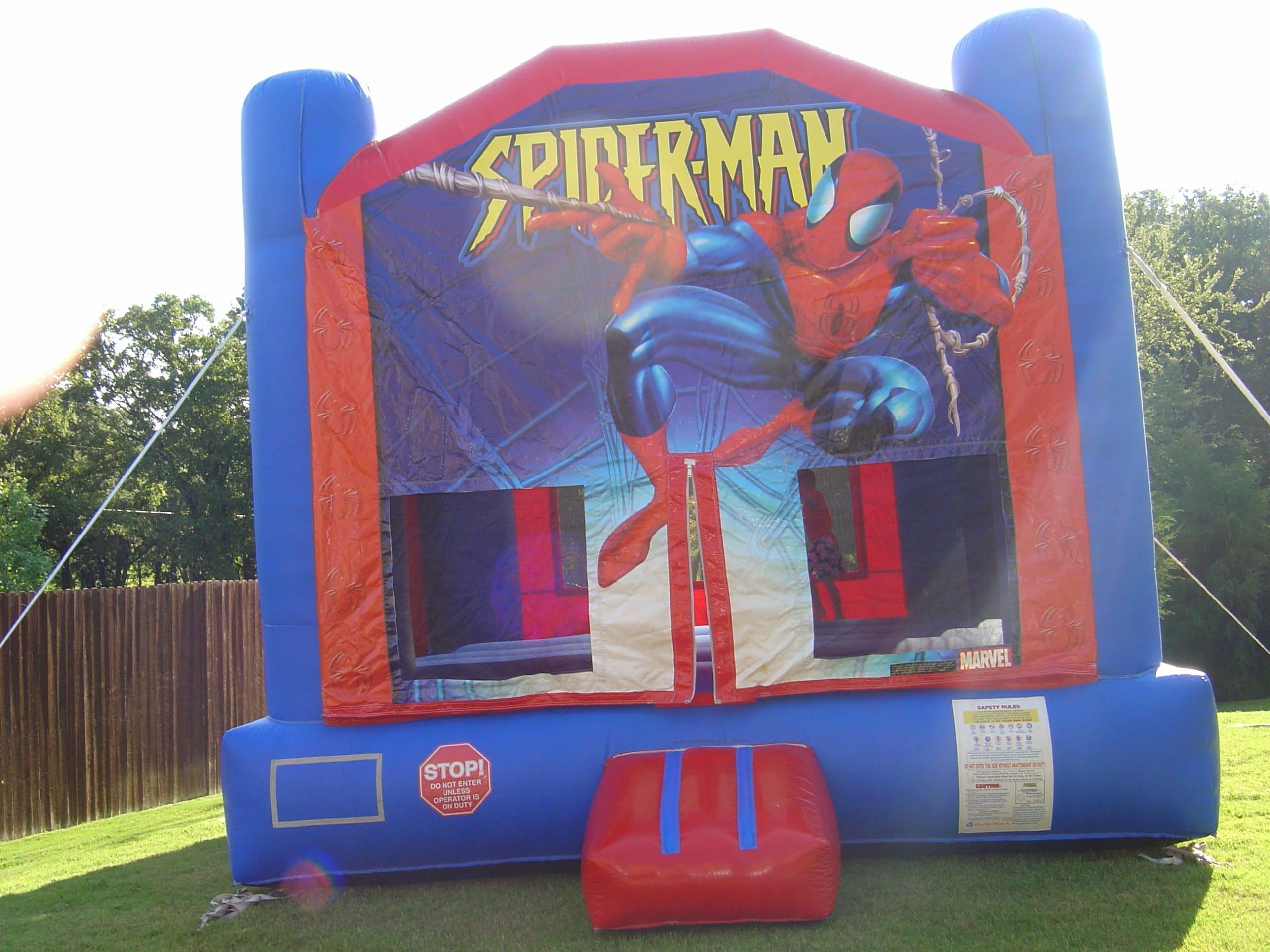 JumpCitySpidermanBounceHouse