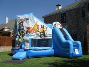 Pirate 3 n 1 combo bounce inflatable