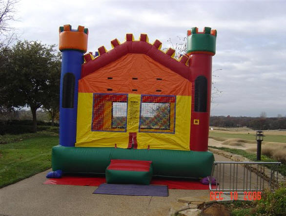 medieval air castle bounce house