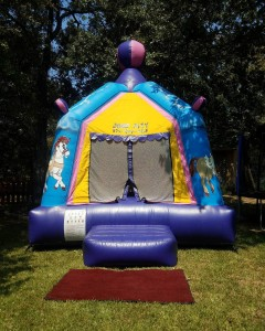 Pretty Carousel Bounce House
