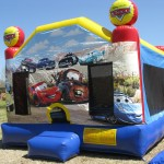 Pixar Cars Bounce House with Lightning McQueen and Mater the Tow Truck