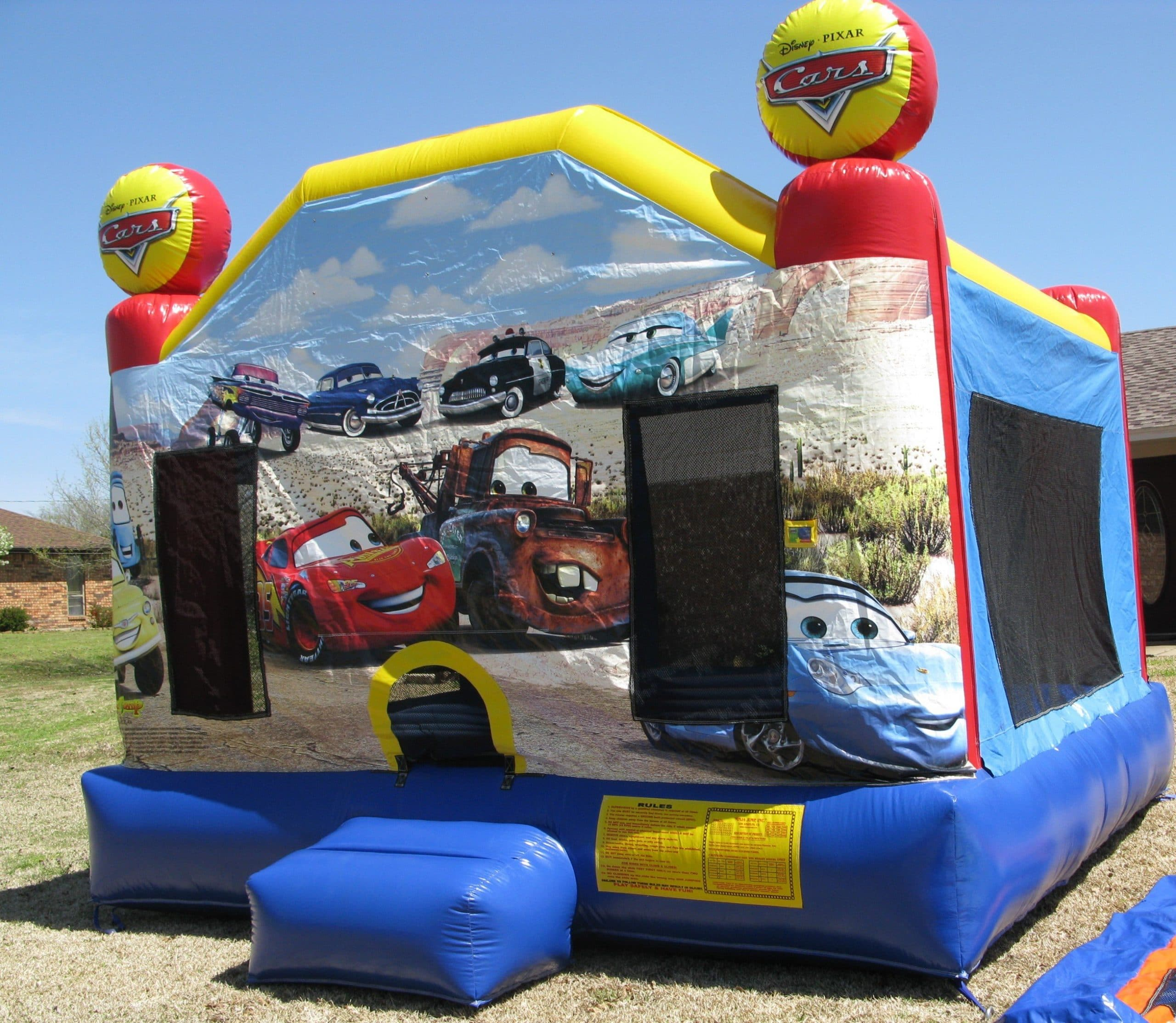 Disney Pixar Cars Bounce House