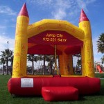 jump city red castle bounce house rental