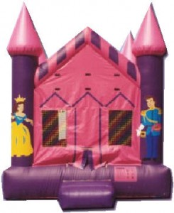 princess air castle bounce house