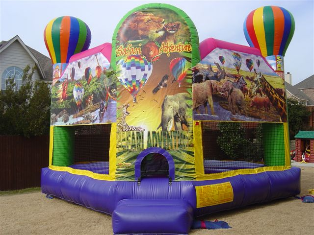 safari adventure club bounce house