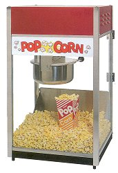 popcorn machine rental for kids and adults