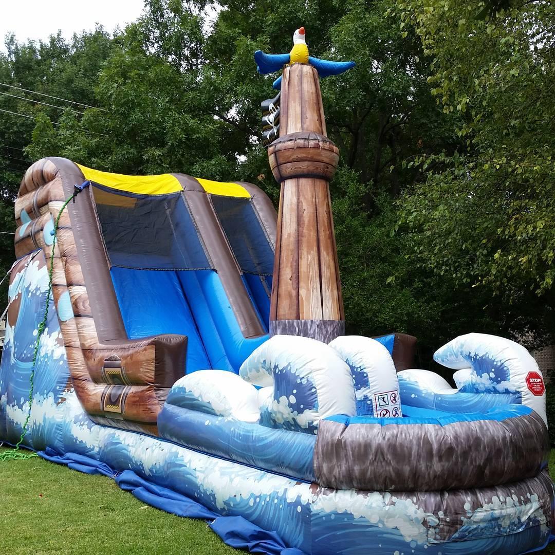 water slide pirate