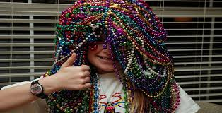 kid with beads