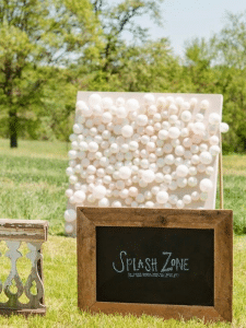 diy-canvas-board-wedding-reception-idea