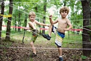 rope-course-summer-party-activity
