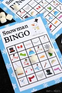 Snowmanbingo