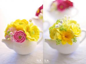 Floral-centerpiece-teapot-spring-decoration