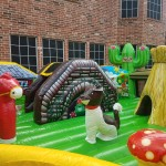 little farm toddler inflatable