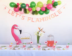 flamingle party for mothers day ideas