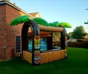 inflatable tiki bar rental for adults and kids