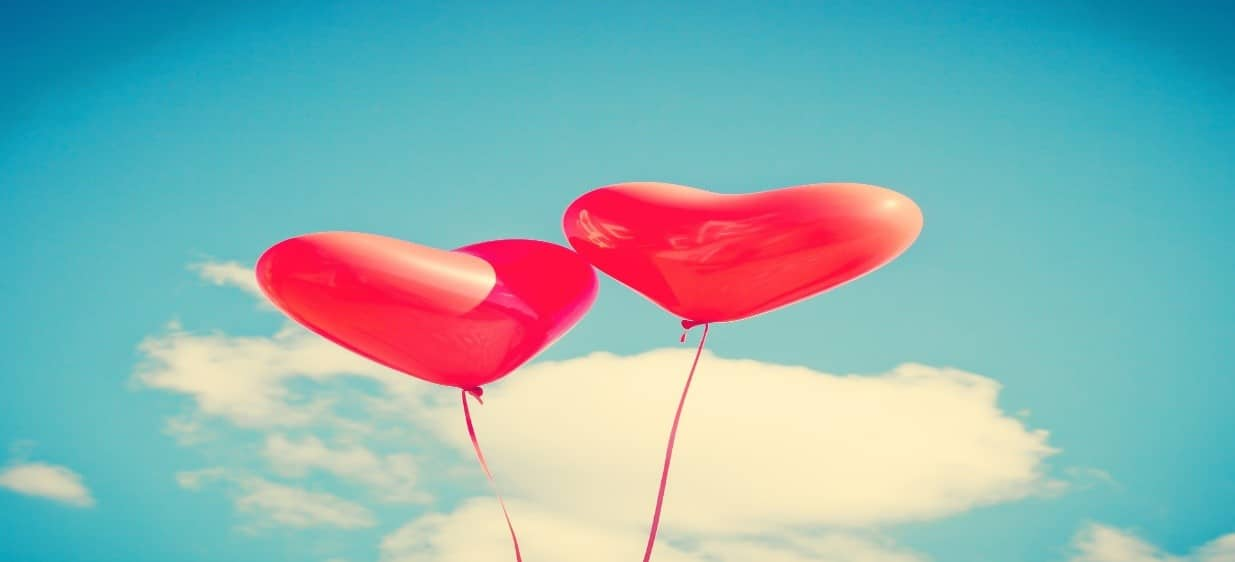 two-red-valentine's-day-balloon