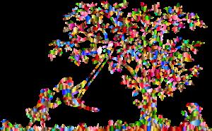 flower-kids-tree