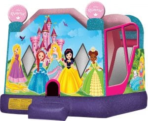 little princess bounce house combo rental