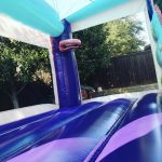 Little princess bounce house rental combo with slide inside bounce jumping area