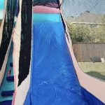 Little princess bounce house rental combo with slide view inside