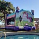 unicorn bounce house combo