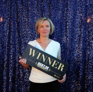 bounce house rental winner lena owner best of denton county award