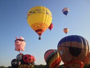 PLano, TX celebration baloon festival
