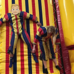 Velcro wall inflatable rental
