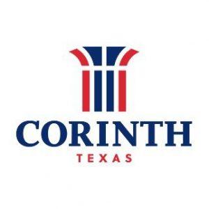 Corinth Texas government city logo
